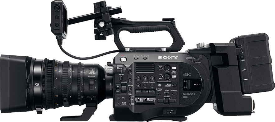 4K Video Sony FS7II Monterey
