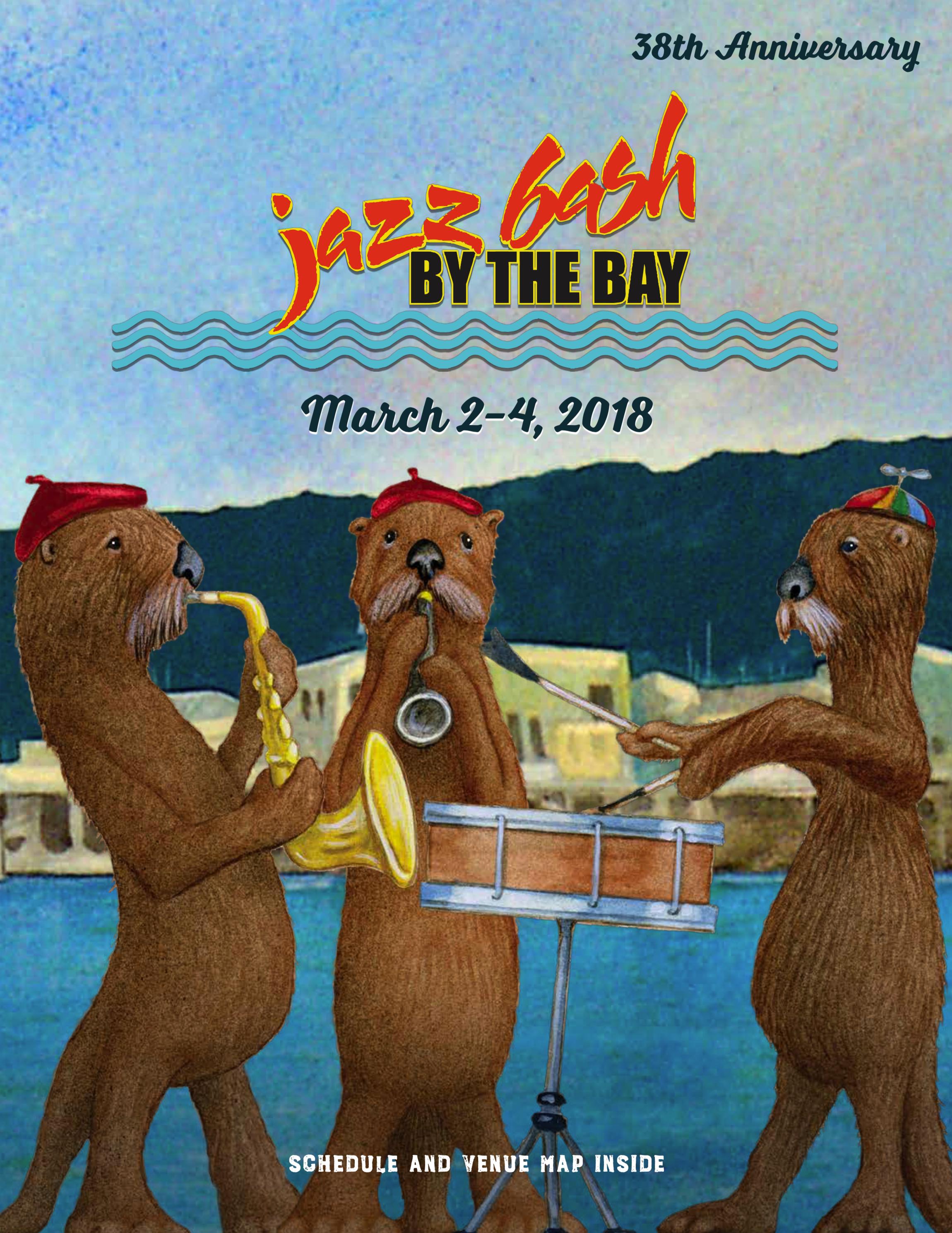 Jazz Bash by the Bay 38th Anniversary Program