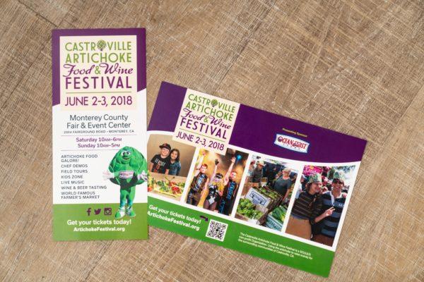 Castroville Artichoke Food & Wine Festival flyer