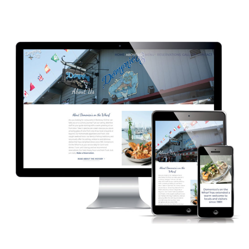 Mag One Media Websites - Domenicos on the Wharf