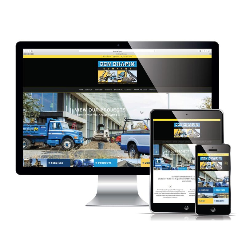 Don Chapin - Responsive Website Design